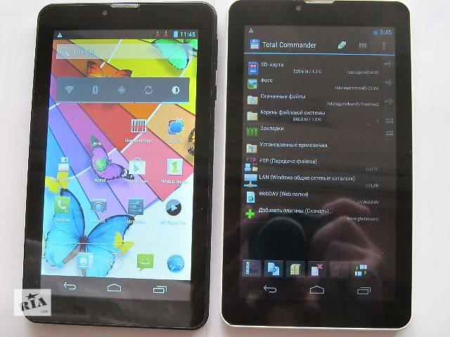 бу новый Android 4.X 7 с GPS 3G  2-SIM  WIFI в Львове