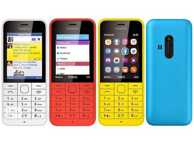 Замечательный мобильный телефон Нокия 220 2 сим, яркий корпус.- объявление о продаже  в Ахтырке