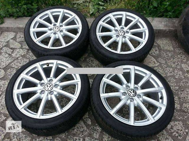 продам новый Колеса и шины Диск Диск литой 8 18 46 5x112 Легковой Volkswagen бу в Ужгороде
