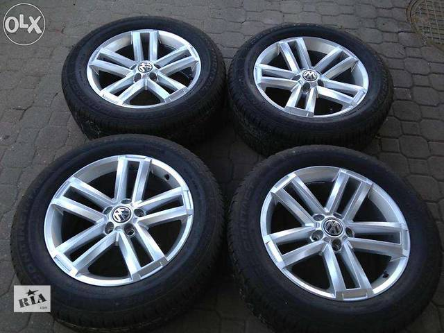 купить бу новый Колеса и шины Легковой Volkswagen Amarok 255/55/19-continental. в Ужгороде