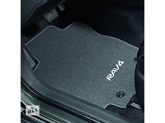 бу Коврики салона оригинальные Toyota Rav 4 (2013) велюровые (антрацит) в Одессе