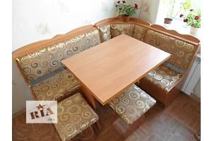 Новый недорогой кухонный уголок «Лорд» (Угол+Стол+Табуретки)