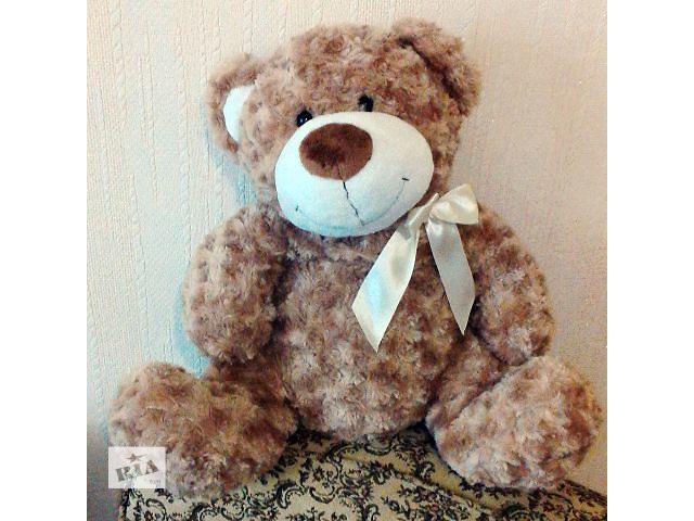 Новый Плюшевый мишка, медведь (коричневый, с бантом, 40 см) Grand- объявление о продаже  в Киеве