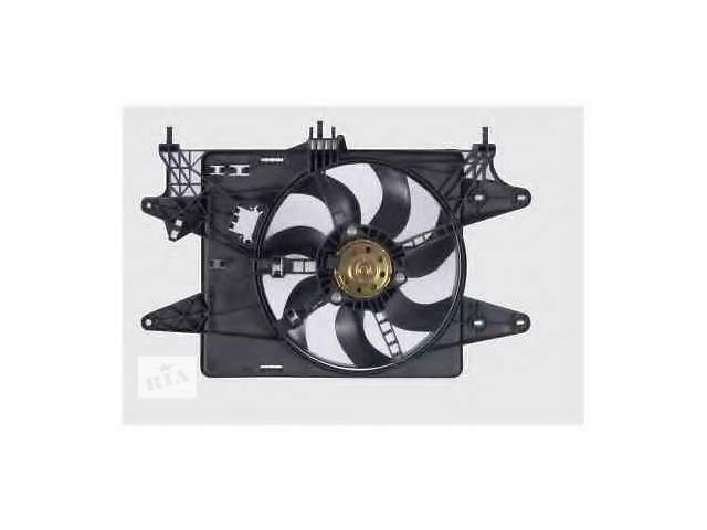 купить бу новый Система охлаждения Диффузор+Вентилятор Fiat Doblo 1,4 06-10р. в Луцке