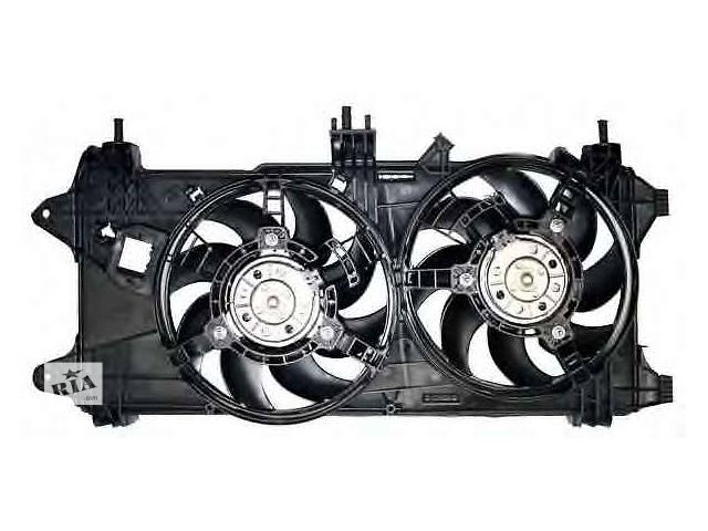 бу новый Система охлаждения Диффузор+Вентиляторы Fiat Doblo 1,3 1,9 Multijet 05-10р. С кондицоонером в Луцке