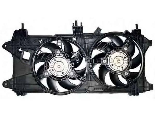 продам новый Система охлаждения Диффузор+Вентиляторы Легковой Fiat Doblo 1,3 1,9 Multijet  06-10р. бу в Луцке
