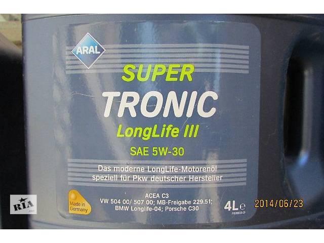 продам новый Система смазки Масло Aral SuperTronic Longlife III 5W-30 Оригинал из Германии Volkswagen T5 (Transporter) 2007 бу в Хусте