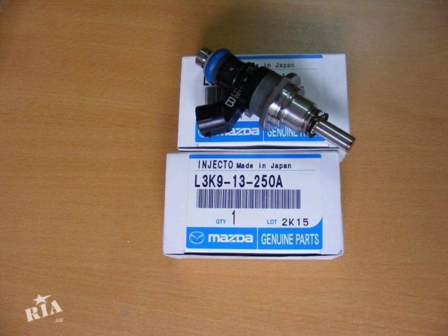 купить бу Топливная форсунка Mazda CX-7, купить форсунку для Мазды СХ7 2.3 турбо, Мазда МПС в Киеве в Киеве