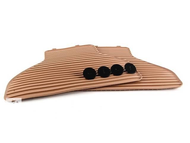 бу Коврики оригинальные задние для BMW X5 (E70) резиновые бежевые в Одессе