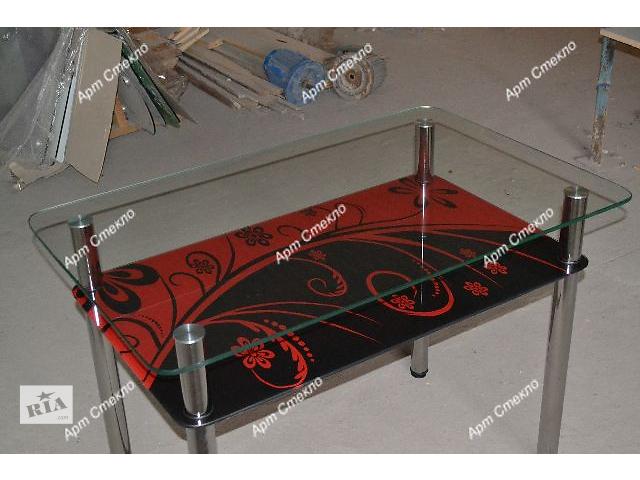 Обеденные столы из стекла.- объявление о продаже  в Дружковке