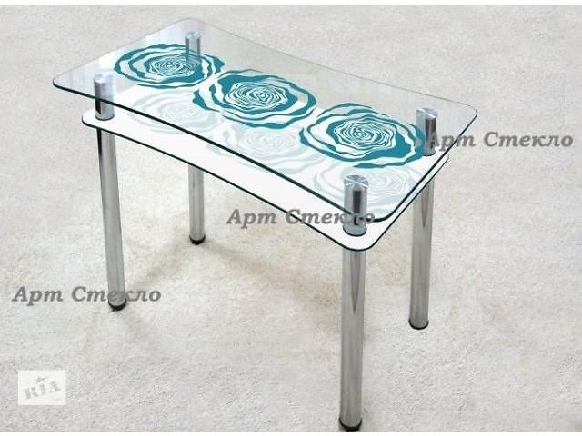 бу Обеденные столы из стекла в Дружковке