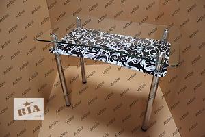 Обеденные столы из стекла от производителя!