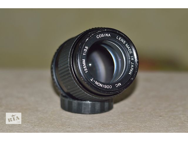 купить бу Объектив Cosina MC Cosinon-T 135mm 1:3.5 в Тернополе