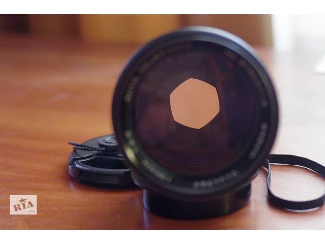 продам супер объектив для профи VIVITAR 135MM F2.5 M42 + Pentax бу в Киеве