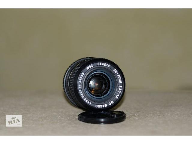Объектив Exakta 28-70mm MC Macro f3.5-4.8.- объявление о продаже  в Тернополе