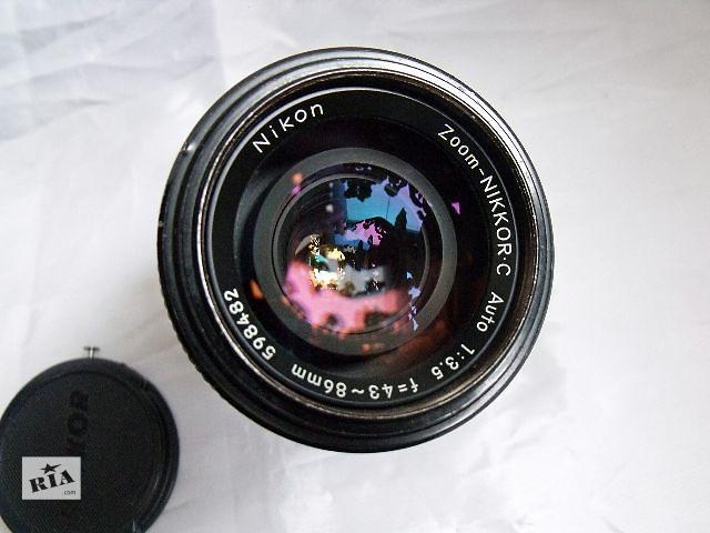 бу Объектив Nikon Zoom-Nikkor C Auto 43-86/3.5 в Киеве
