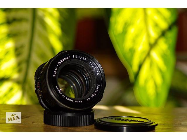 Объектив Super-Takumar f1.8/55mm- объявление о продаже  в Тернополе