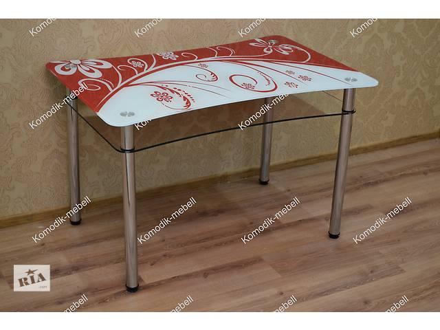 Обелденный стол из стекла для вашей кухни- объявление о продаже  в Дружковке