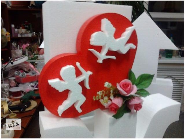 купить бу Объемные декорации в помещение и на праздники из пенопласта и струдера в Киеве