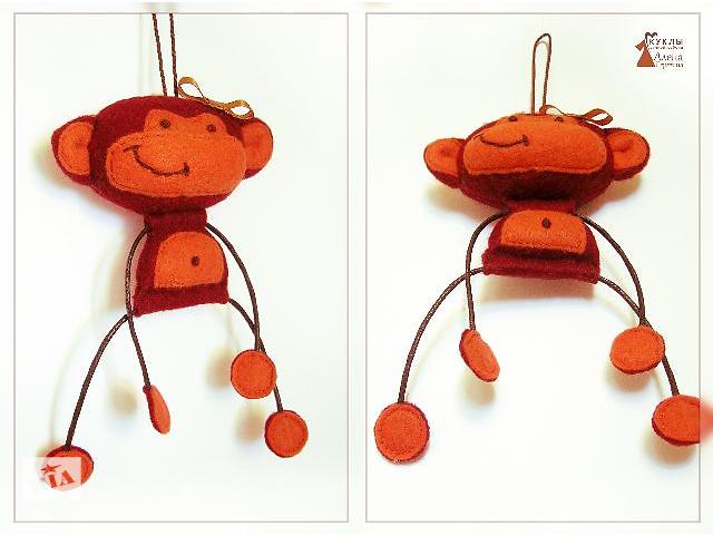 Обезьянка Яна. Игрушка - сувенир ручной работы.- объявление о продаже  в Херсоне