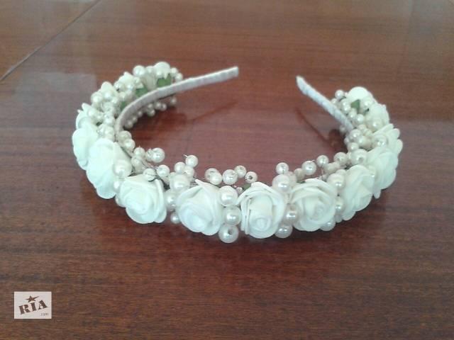 продам Ободок свадебный бу в Золотоноше