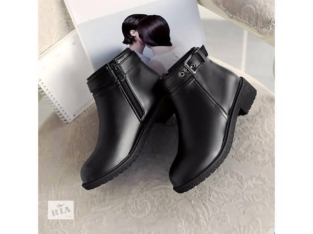 Обувь женская осень зима сапожки новые- объявление о продаже  в Киеве
