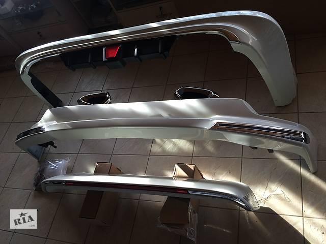 купить бу Обвес, докладки переднего и заднего бампера Toyota Land Cruiser 200 в Луцке
