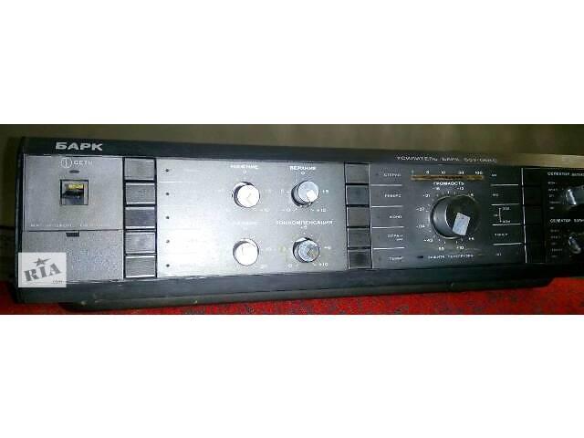 бу очень мощный музыкальный центр компьютер усилительБарк068 акустикаRadiotehnikaS-90 в Львове