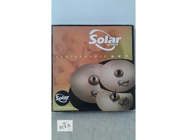 Очень срочно ! барабанные тарелки solar by sabian- объявление о продаже  в Тернополе