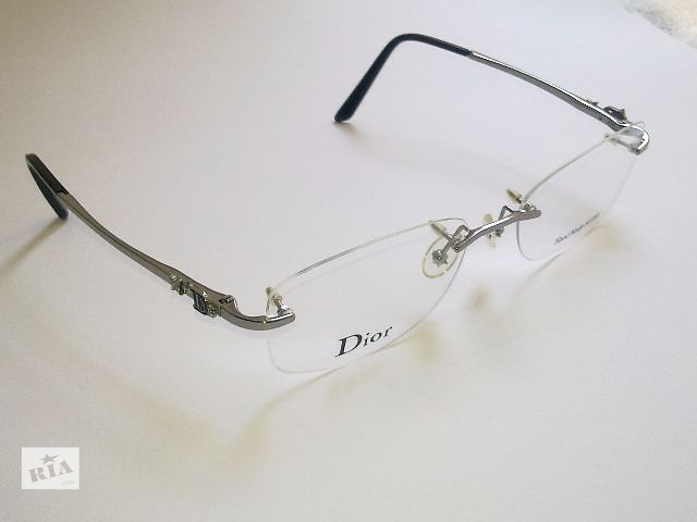 Очки Christian Dior.Оригинал! Винтовая Безободковая Оправа+Аксессуары- объявление о продаже  в Одессе