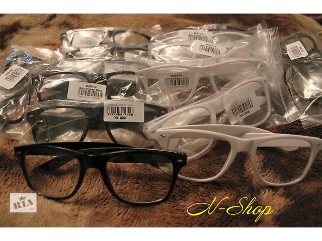 купить бу Очки Ray Ban Wayfarer с прозрачными стеклами линзами ,очки прозрачные в Вознесенске