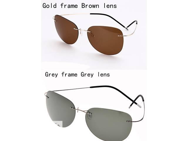Очки солнцезащитные Polaroid титановая оправа. Силуэты, Tom Ford женские- объявление о продаже  в Запорожье