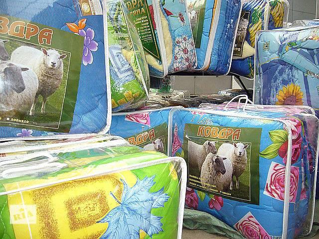 купить бу одеяла из 100% овечьей шерсти закрытые и с открытым мехом в Кропивницком (Кировоград)
