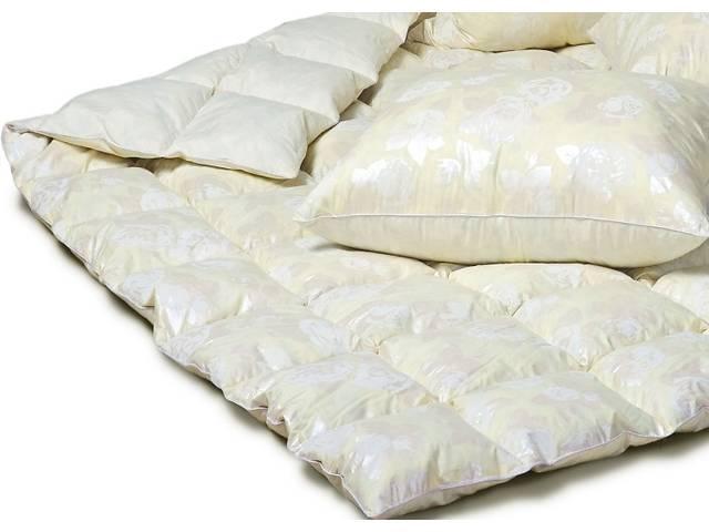 купить бу Одеяло пуховое (ковдра пухова) 90% пух-10%перо,производитель. в Чернигове
