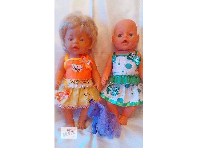 Одежда для кукол BABY BORN ручной работы- объявление о продаже  в Донецке