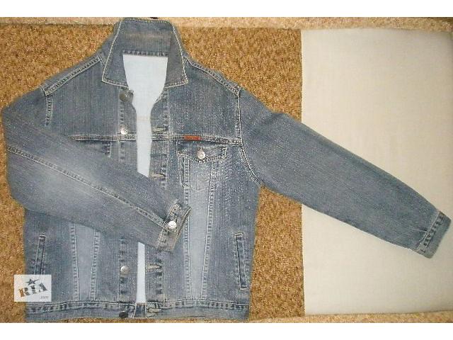 купить бу Одежда  (мужской джинсовый пиджак) в Апостолово
