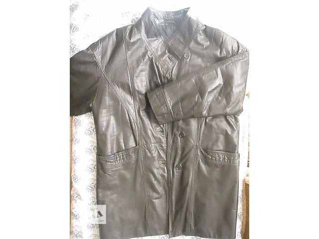 продам Одежда  (женская кожаная куртка ) бу в Апостолово