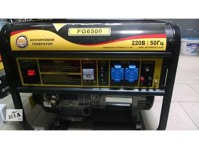 бу Однофазный бензогенератор Forte FG6500 в Киеве