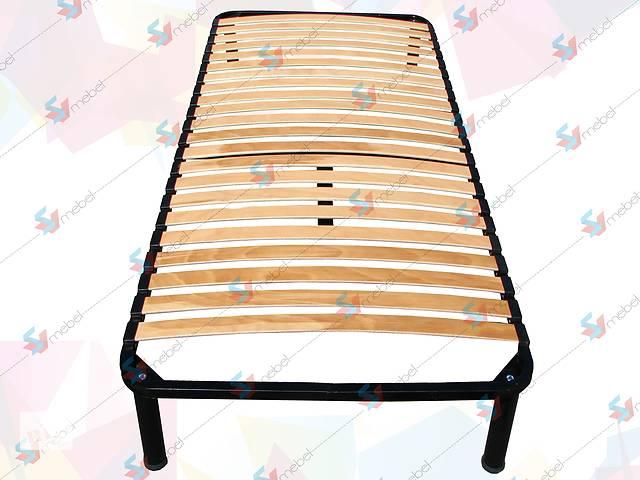 купить бу Односпальный ортопедический каркас кровати на ножках в Мелитополе