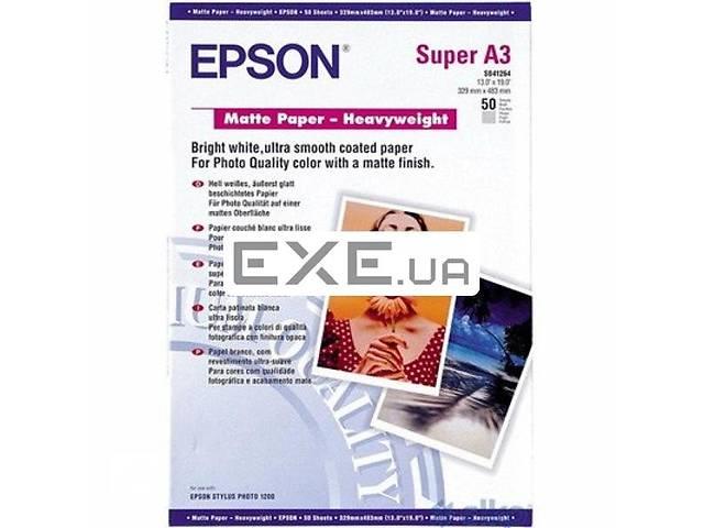 Бумага EPSON A3+ Matte Paper-Heavyweight (C13S041264)- объявление о продаже  в Киеве