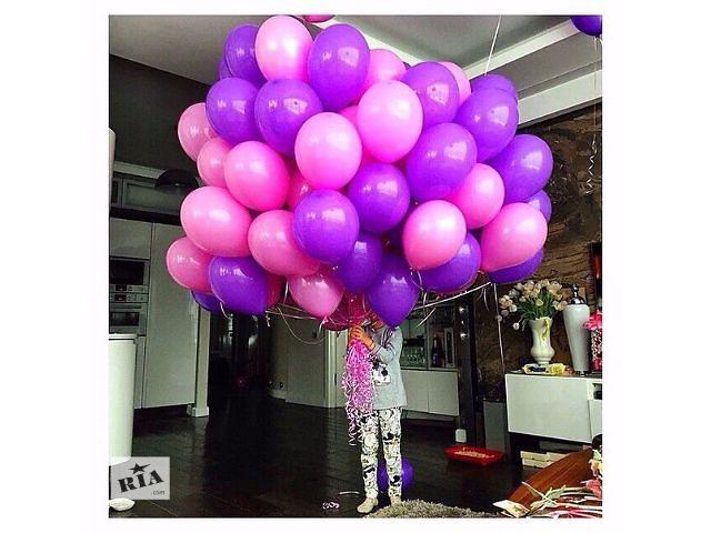 продам Оформление воздушными шарами. Гелиевые шарики с доставкой на дом. Оригинальные подарки на День Всех Влюбленных. бу в Киевской области