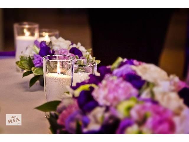 продам Оформление любого торжества насыпными свечами. бу в Харькове