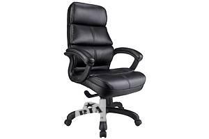 Офисная мебель Кресла для офиса Феликс экокожа черная