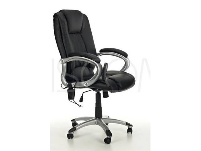 продам Офисное кресло массажное Calviano Manline (чорное) бу в Тернополе
