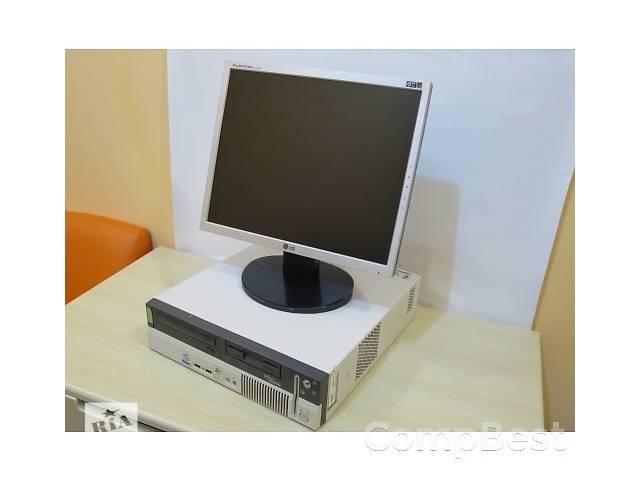 """продам Офисный комплект на Pentium 4 + Монитор 17"""" + клава, мышь, кабеля бу в Киеве"""