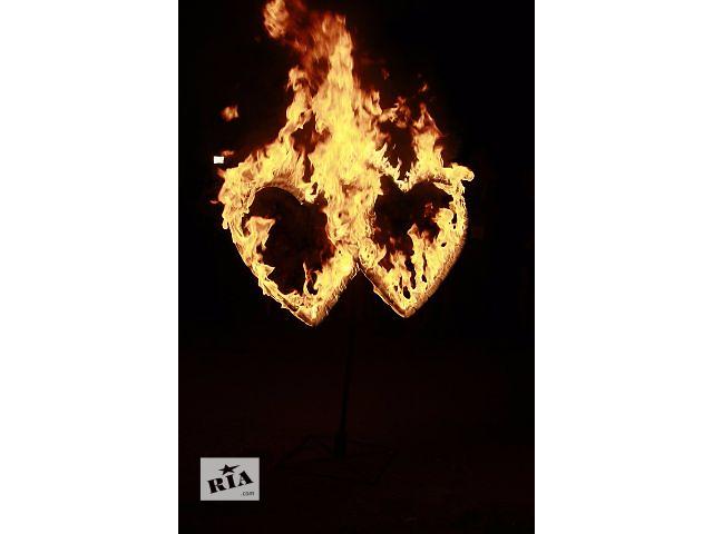 купить бу Огненные сердца для Вашей свадьбы ! в Черкассах