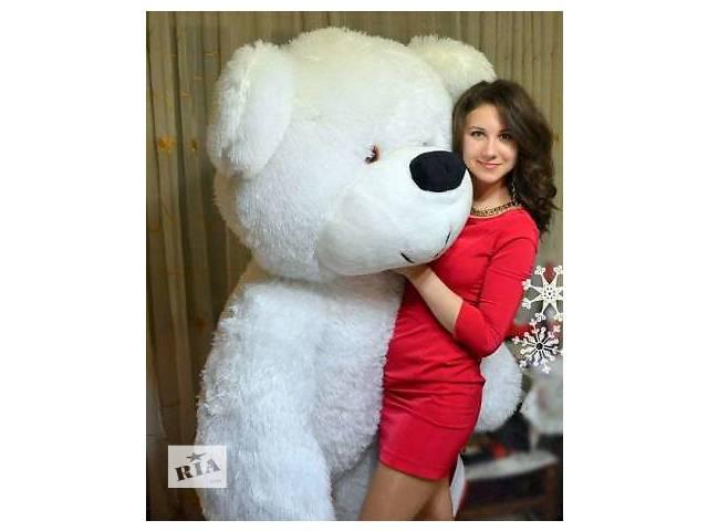 купить бу Огромный медведь 200см! Самый большой мишка 2 метра в Украине. Лучший подарок девушке. в Кривом Роге (Днепропетровской обл.)