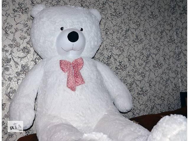 бу Огромный медведь 250см! Самый большой мишка 2,5 метра в Украине. Лучший подарок девушке. в Кривом Роге (Днепропетровской обл.)