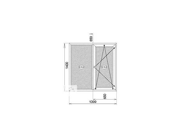 продам Окна и двери металлопластиковые бу в Ровно