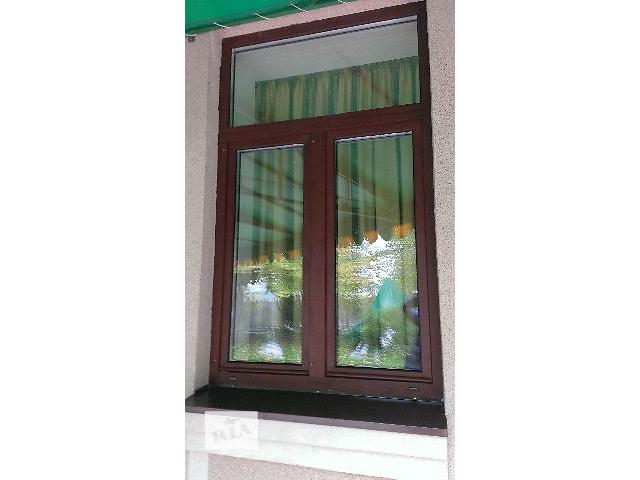 купить бу Окна из термоизолированного алюминия. в Днепре (Днепропетровске)